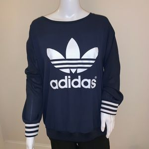 Adidas Sheer Crewneck